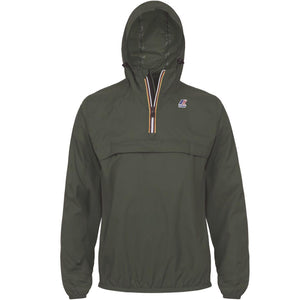 K-Way - Overhead 1/2 Zip Leon Jacket - Torba Green