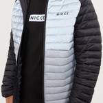 Nicce - Project Jacket in Black & Stone