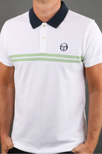 Load image into Gallery viewer, Sergio Tacchini - Supermac Polo Archivo in White