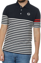 Load image into Gallery viewer, Sergio Tacchini - Cooper Polo in Navy/Ivory