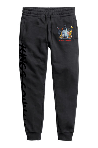 Blue Collar King Sweatpants (Black)