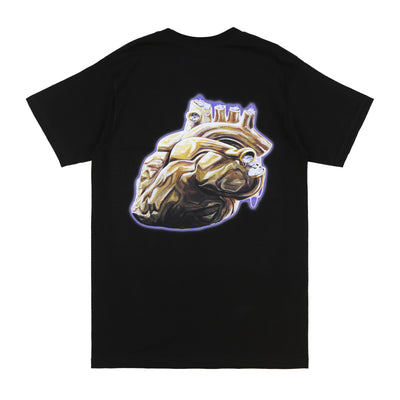 Heart of Gold Tee (Black)