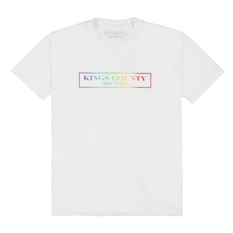 RAINBOW BOX LOGO TEE