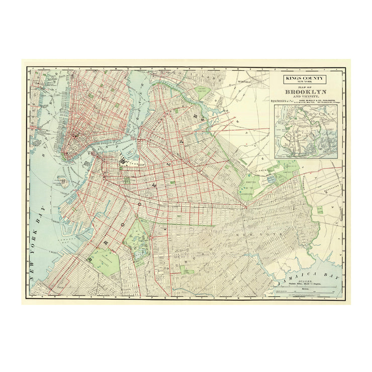 BROOKLYN MAP BLANKET