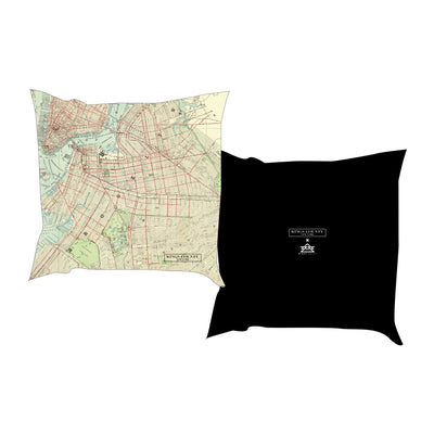 BROOKLYN MAP PILLOW