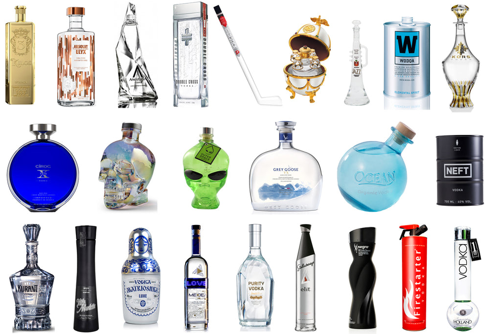 Liquor Bottles Define the Brand - KOR Water