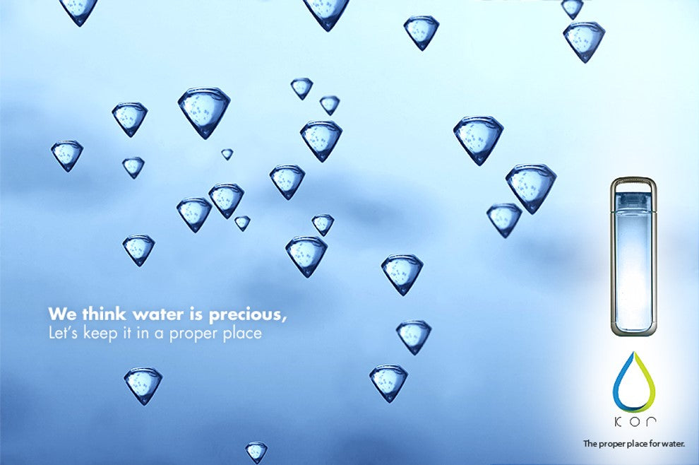 Water is Precious - Original KOR Water Brand Positioning