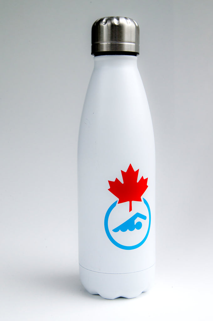 Swimming Canada Water Bottle