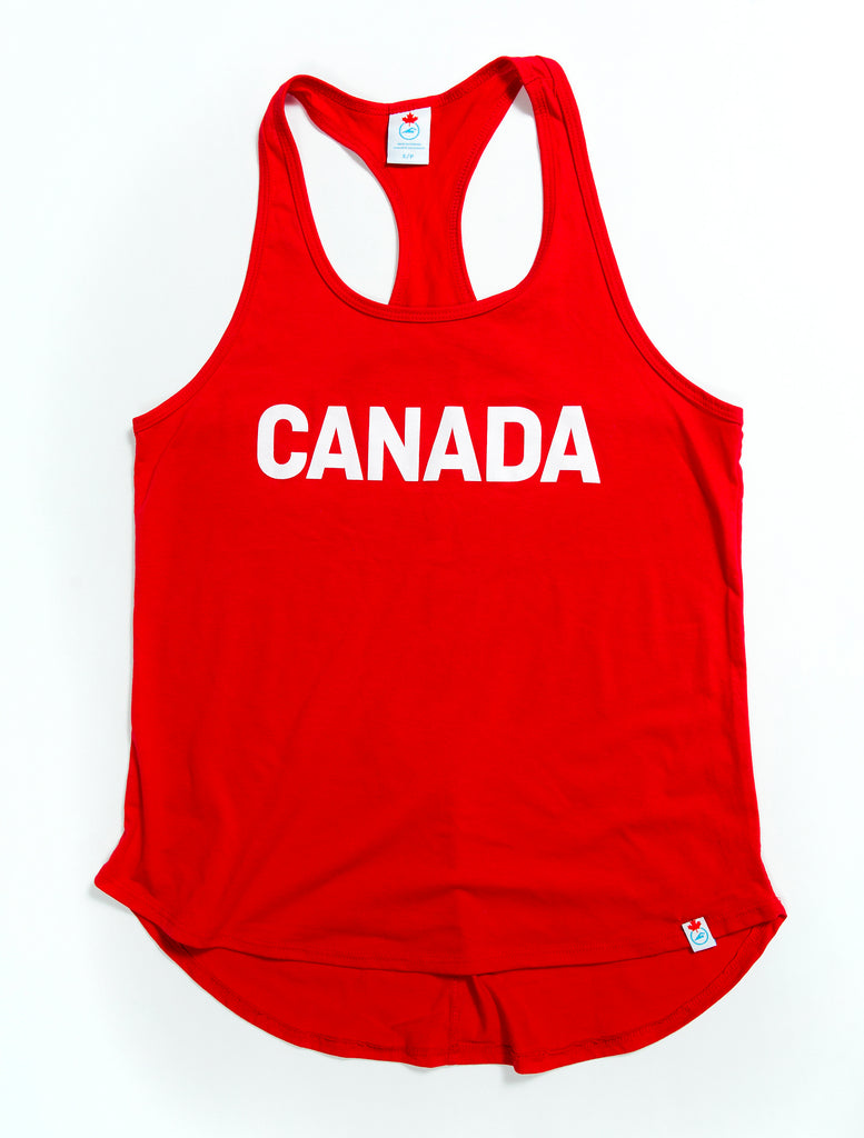 Women's Team Canada Red Tank Top