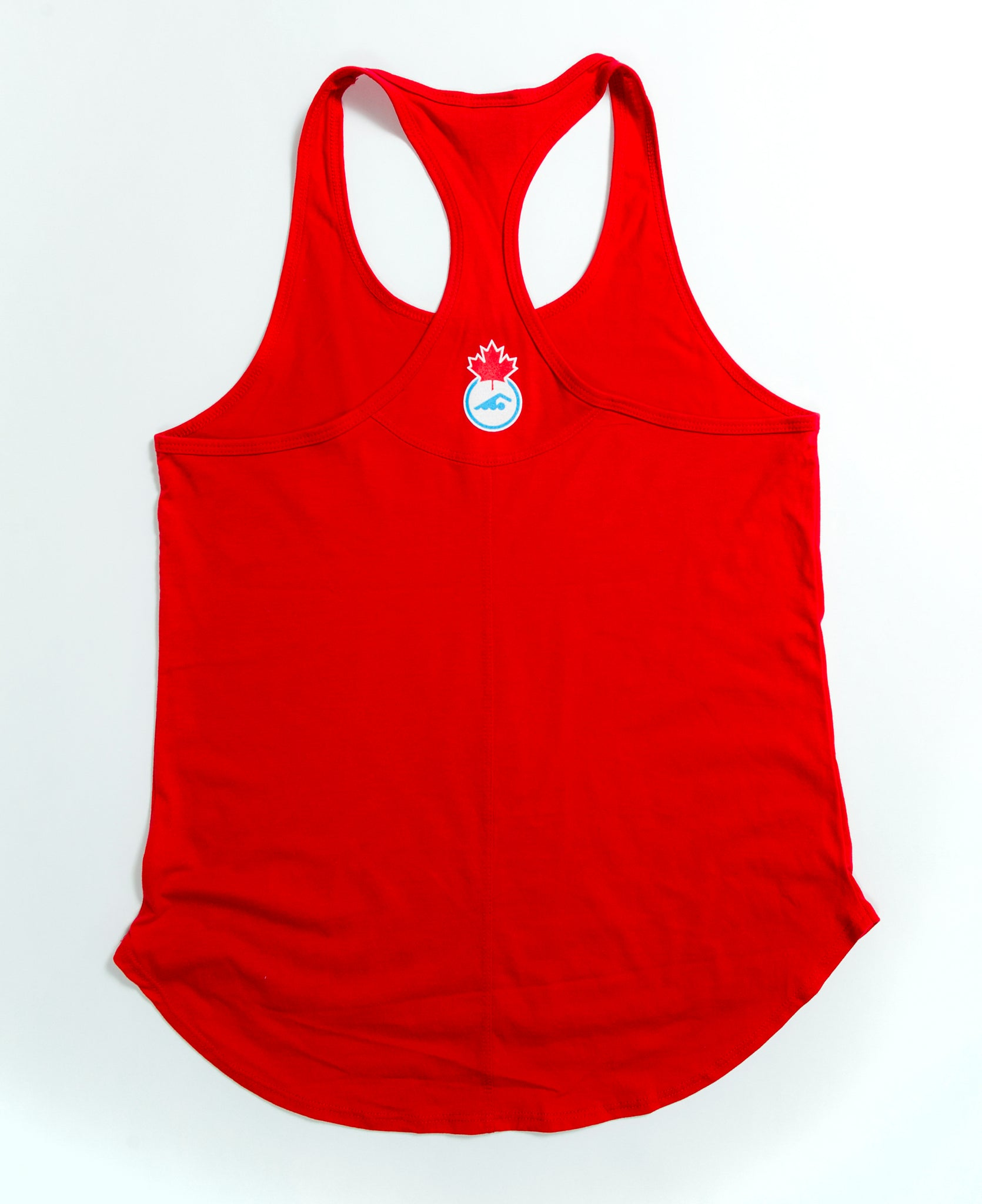 d3402f2fc4eeb Women's Team Canada Red Tank Top – Swim Canada Store