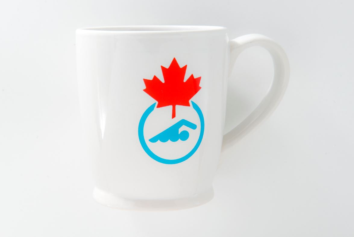 Swimming Canada Coffee Mug