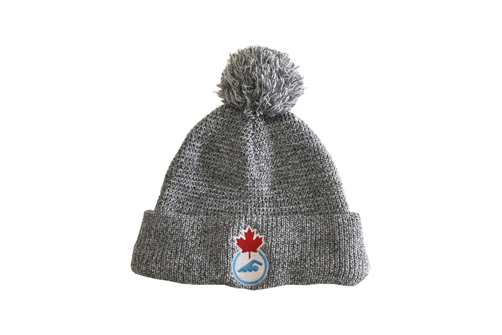 Swimming Canada Pom Pom Toque