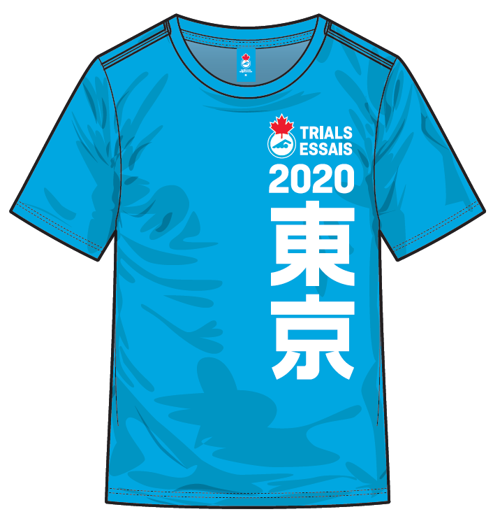 Men's 2020 Trials Heather Blue Short Sleeve T-shirt
