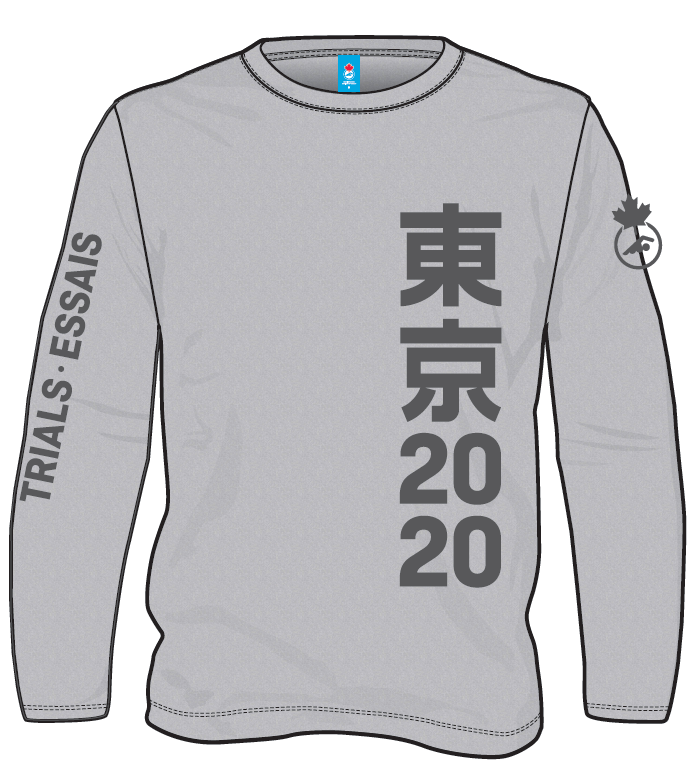 2020 Trials Heather Grey Long Sleeve T-shirt