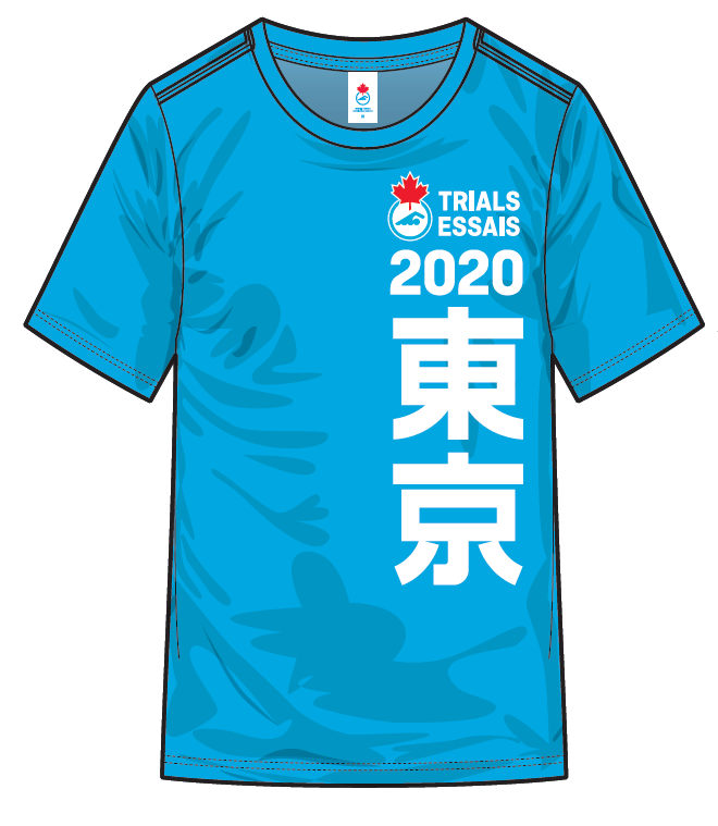 Women's 2020 Trials Heather Blue Short Sleeve T-shirt