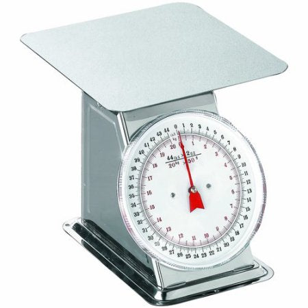 Weston: Flat Top Scale 44lb (Stainless Steel)