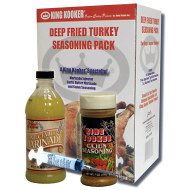 King Kooker: Deep Fried Turkey Seasoning Pack