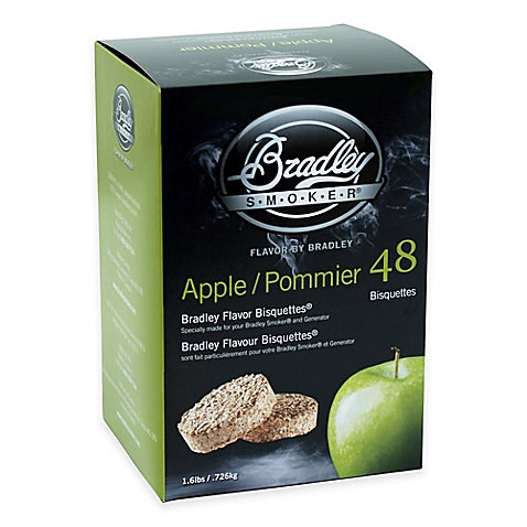 Bradley Smokers: Apple Bisquettes (48 Pack)