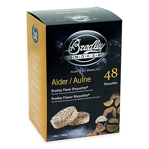 Bradley Smokers: Alder Bisquettes (48 Pack)