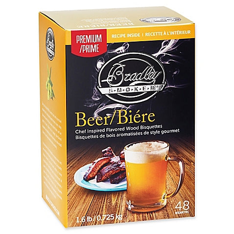 Bradley Smokers: Beer Bisquettes (48 Pack)