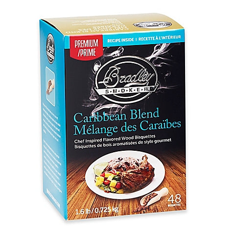 Bradley Smokers: Caribbean Blend Bisquettes (48 Pack)