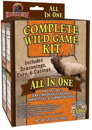 Hi-Country: Complete Wild Game Kit- All In One