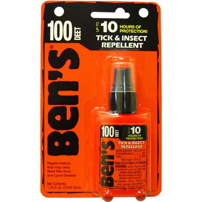 Ben's Tick & Insect Repellent 1.25fl oz.