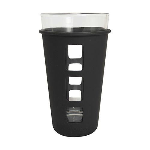 Eco Vessel: Vibe Pint Glass Set (Black)