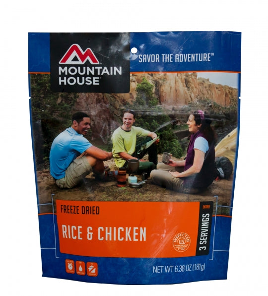 Mountain House: Rice & Chicken