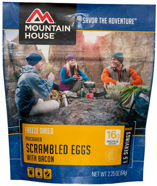 Mountain House: Scrambled Eggs with Bacon