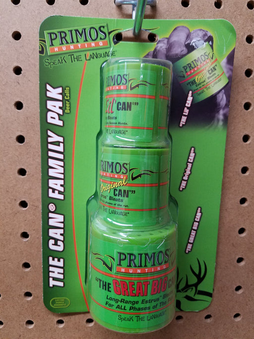 Primos The Can Family Pak Deer Calls