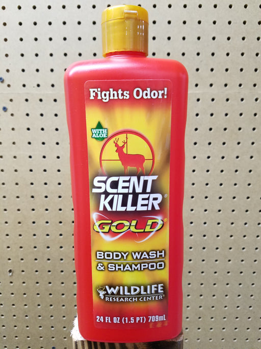 Scent Killer Gold Body wash & Shampoo (24fl oz)