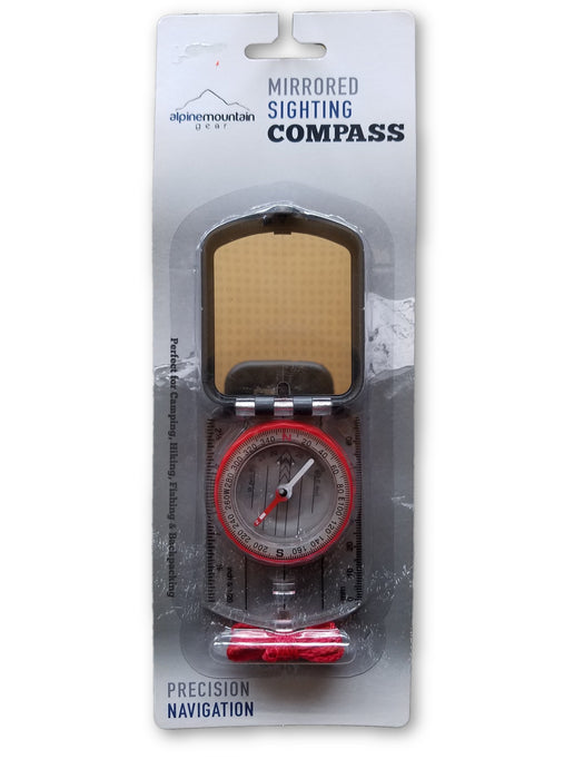 Alpine Mountian Gear: Mirrored Sighting Compass
