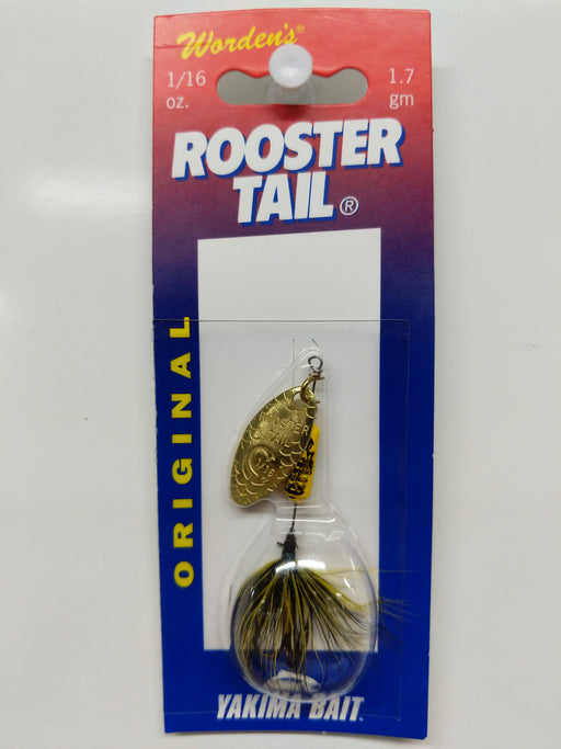 Yakima Bait: Rooster Tail Original 1/16oz (Bumblebee)