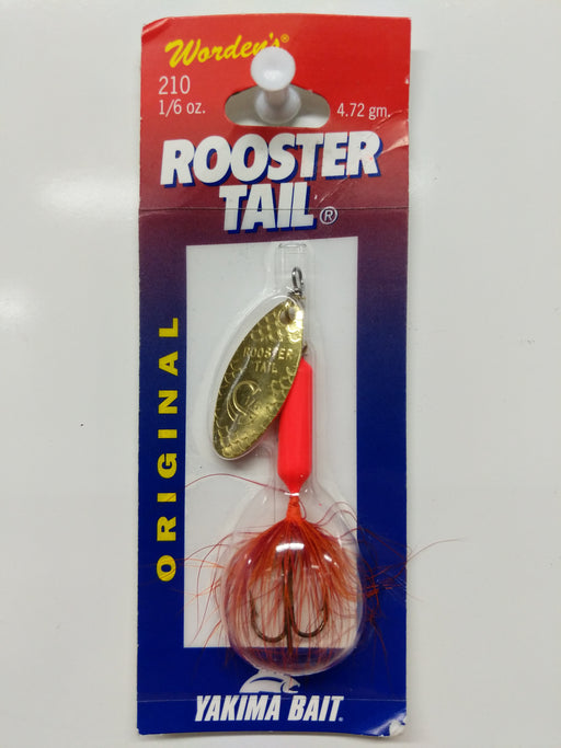 Yakima Bait: Rooster Tail Original 210 1/6oz (Fluorescent Red)
