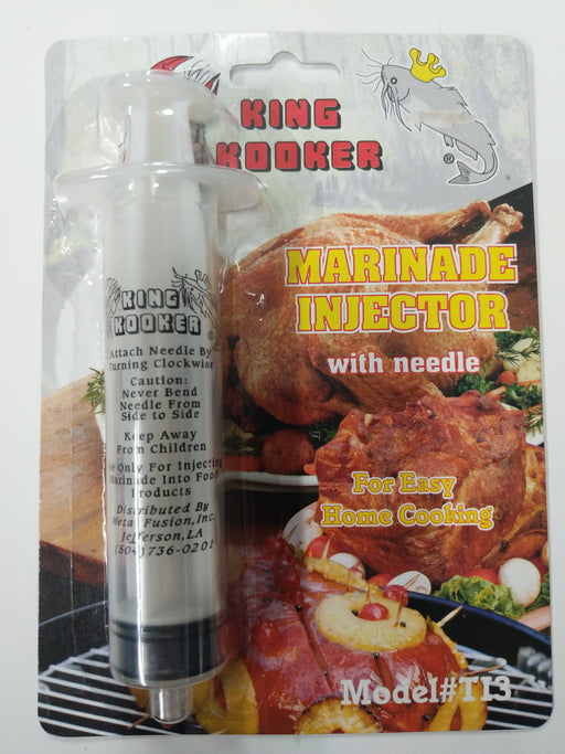 King Kooker: Marinade Injector With Needle
