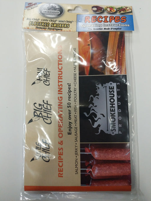 Smokehouse Products: Recipes & Operating Instructions