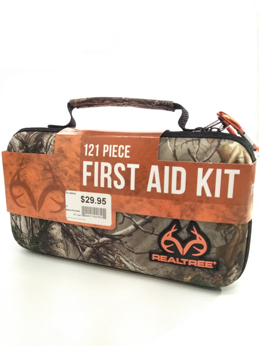 Lifeline First Aid: Deluxe Hard Shell First Aid Kit-121 Piece (Realtree)