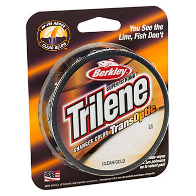 Berkley Super Strong Trilene: Changes Color TransOptic