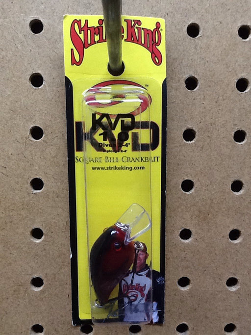 Strike King: KVD Square Bill Crankbait 1.0 (Delta Red)