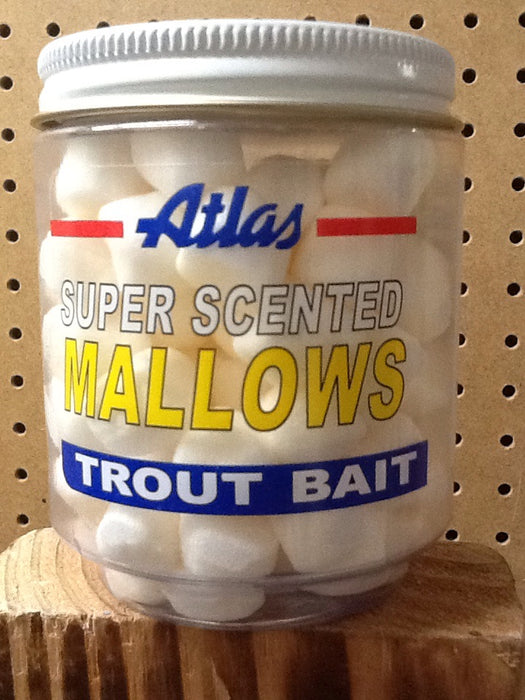Atlas-Mike's: Super Scented Mallows Trout Bait (White Anise)