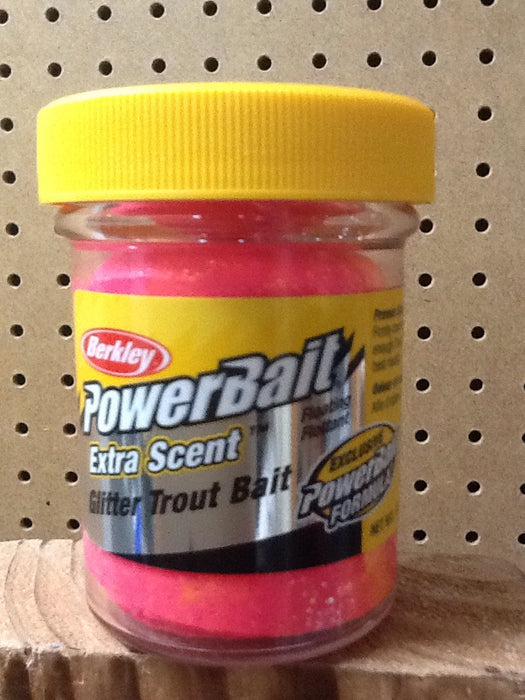 Berkley: Powerbait Glitter Trout Bait Floating Flottant (Sherbet)