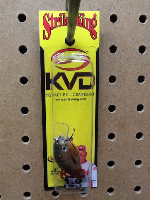 Strike King: KVD Square Bill Crankbait 1.0 (Orange Bream)