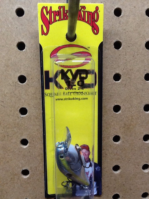 Strike King: KVD Square Bill Crankbait 1.0 (Chrome Sexy Shad)