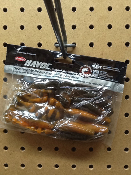 "Berkley: Havoc Devil Spear 4"" (Alabama Craw)"