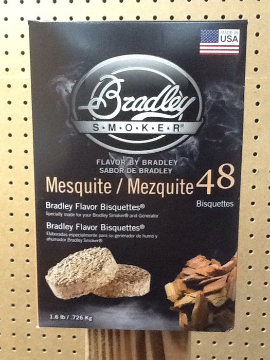 Bradley Smokers: Mesquite Bisquettes (48 Pack)