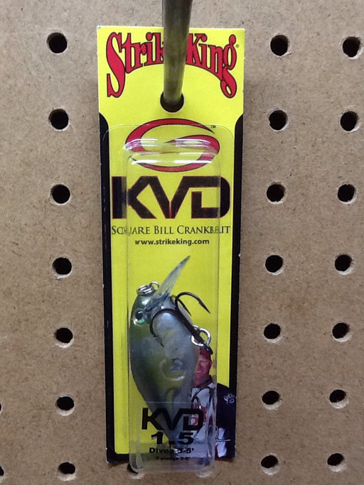 Strike King: KVD Square Bill Crankbait 1.5 (Clearwater Minnow)