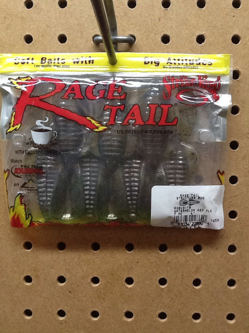 "Strike King: Rage Tail Structure Bug 4"" (Watermelon Red)"