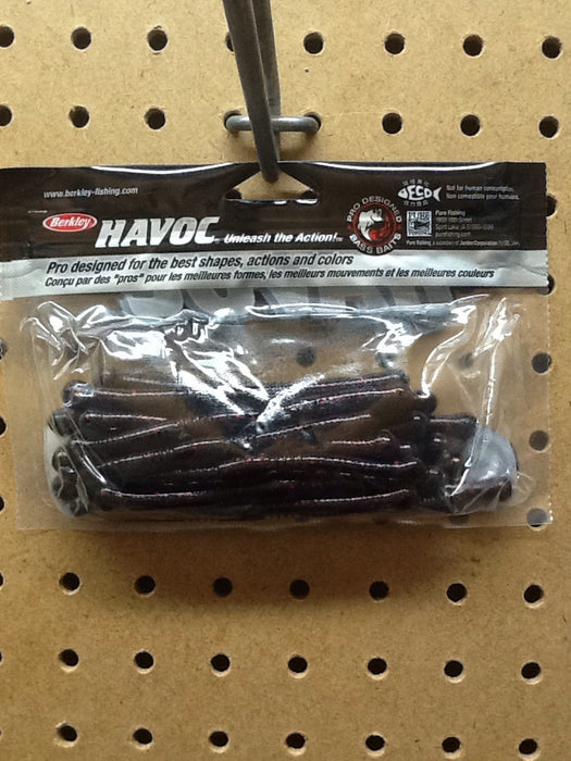 "Berkley: Havoc Money Maker 4.5"" (Black Red Fleck)"