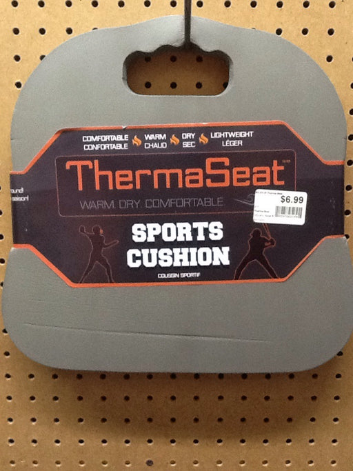 Therma Seat: Sports Cushion (Grey/ Black Sheep)